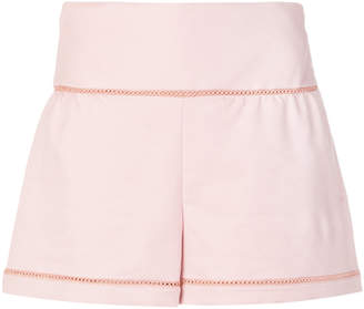 RED Valentino high-waisted shorts