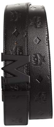 MCM Monogram Leather Belt