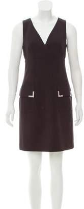 MICHAEL Michael Kors Surplice Mini Dress