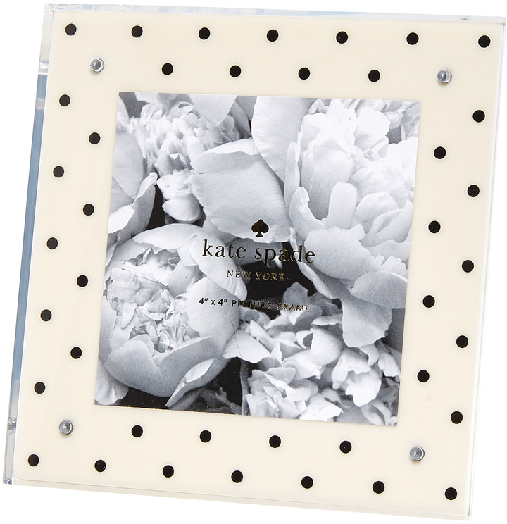 Kate Spade New York Acrylic Dots Picture Frame