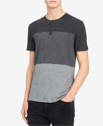 Calvin Klein Jeans Men's Colorblocked Henley
