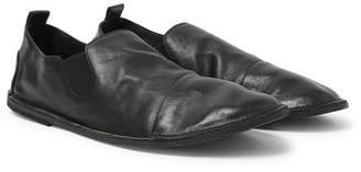 43436304c1a Marsèll Cap-Toe Washed-Leather Loafers - Men - Black