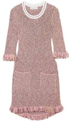 Sonia Rykiel Sequin-Embellished Cotton-Blend Tweed Mini Dress