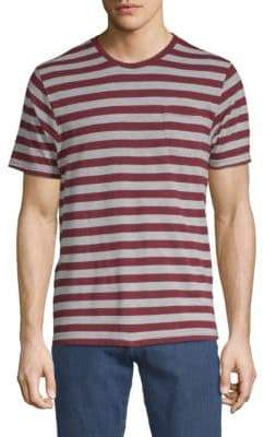 Sovereign Code Jakov Striped Cotton Tee