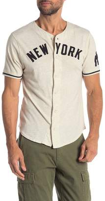 Red Jacket MLB New York Moonlight Jersey Shirt