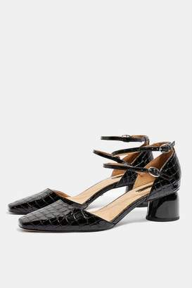 Topshop Womens Jackpot Two Part Court Shoes