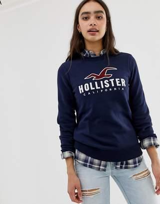 Hollister sweatshirt with front logo