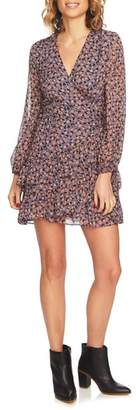 1 STATE 1.STATE Ditzy Ruffle Wrap Dress