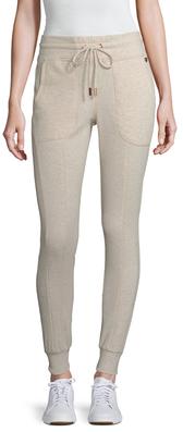 Cotton Fleece Back Drawstring Legging $64 thestylecure.com