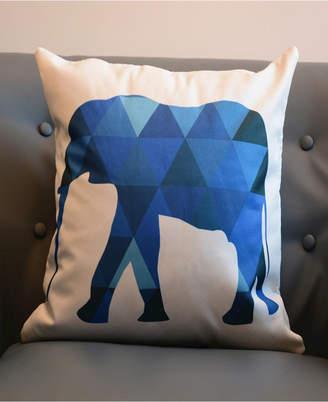 Outdoor Pillow Shell - Animal Print - Elephant