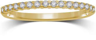 JCPenney MODERN BRIDE 1/7 CT. T.W. Diamond 10K Yellow Gold Band Ring