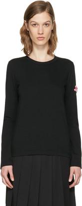 Comme des Garçons Girl Black Bow T-Shirt $120 thestylecure.com
