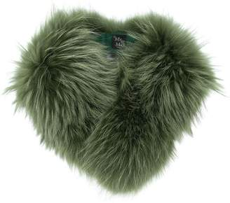Mr & Mrs Italy racoon fur scarf