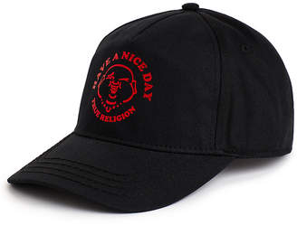 True Religion MENS HAVE A NICE DAY BASEBALL CAP