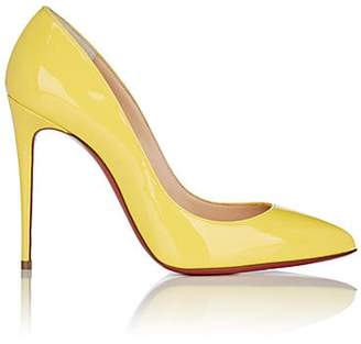 5d4b3a05ff5 Christian Louboutin Women s Pigalle Follies Patent Leather Pumps - Yellow  Queen