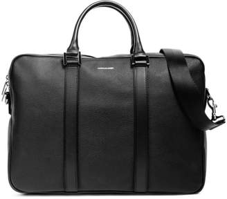 Pebbled Leather Formal Computer Briefcase