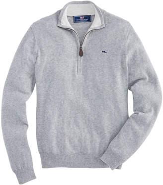 Vineyard Vines Boys Palm Beach Stripe 1/4-Zip Sweater