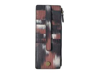 Lodis Boho Credit Card Case with Zipper Pocket Credit card Wallet