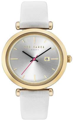 Ted Baker Women's Ava Leather Strap Watch, 36mm