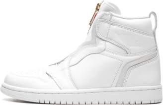 Jordan Womens Air 1 High Zip White/University Red