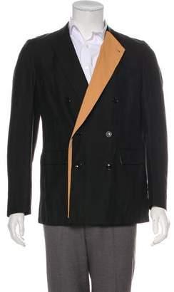 Dries Van Noten Linen & Wool Blazer