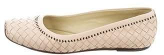 Bottega Veneta Intrecciato Ballet Flats