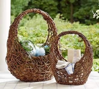 Pottery Barn Grapevine Baskets
