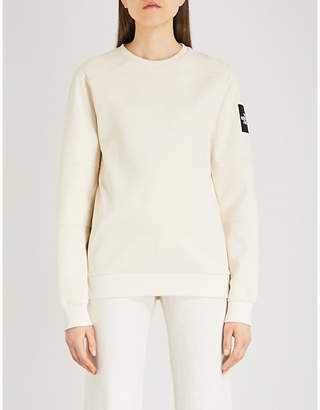 The North Face Logo-patch cotton-jersey sweatshirt
