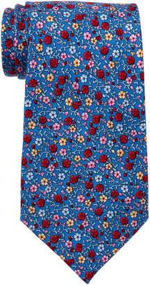 Pierre Cardin Floral Print Silk Tie