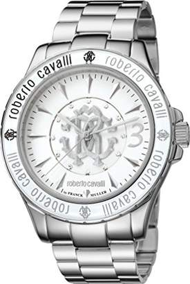 Roberto Cavalli by Franck Muller Women's Swiss-Quartz Watch with Stainless-Steel Strap