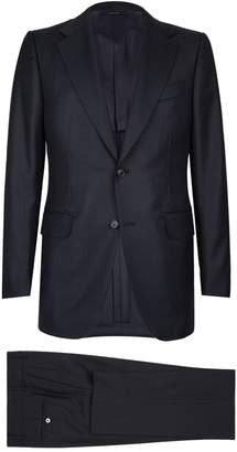 Dunhill Textured Birdseye Two-Piece Suit