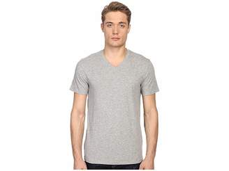 Vince Short Sleeve Pima Cotton V-Neck Shirt