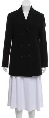 Narciso Rodriguez Silk-Lined Wool Coat