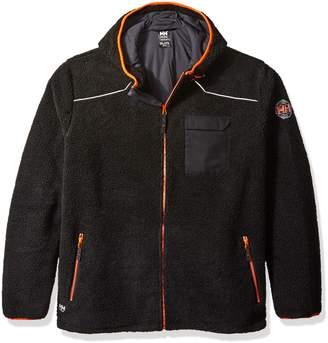 Helly Hansen Work Wear Men's Big and Tall Chelsea Pile Polartec Hoodie Jacket