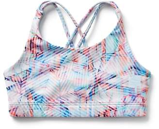 Athleta Girl Printed Upbeat Bra 2.0