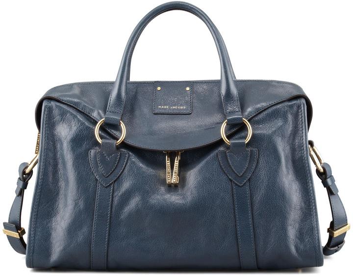 Marc Jacobs Wellington Fulton Satchel Bag, Atlantic