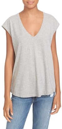 Women's Frame Cotton Jersey Tee $89 thestylecure.com