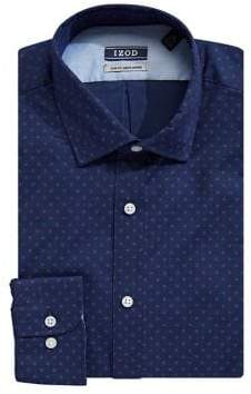 Izod Floral-Print Dress Shirt