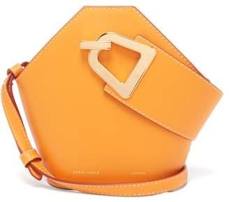 Danse Lente Johnny Mini Leather Bucket Bag - Womens - Orange