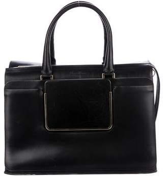 Roger Vivier Leather Top Handle Bag