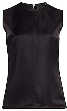 Helmut Lang Women's Satin Shell Top - Size 0