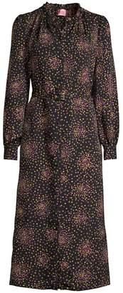 Kate Spade Disco Dots Ruffled Shirtdress