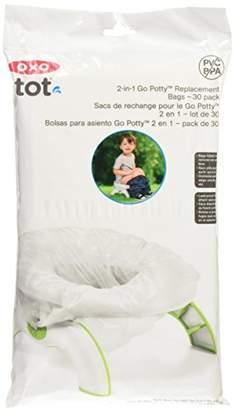 OXO Tot 2-in-1 Go Potty Replacement Bags - Pack of 30