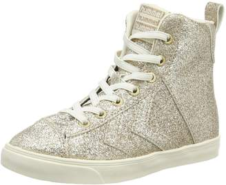 Hummel Kids' Strada Glitter Jr Hi Top Sneakers