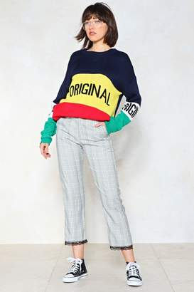 Nasty Gal Our Check of the Woods Pants