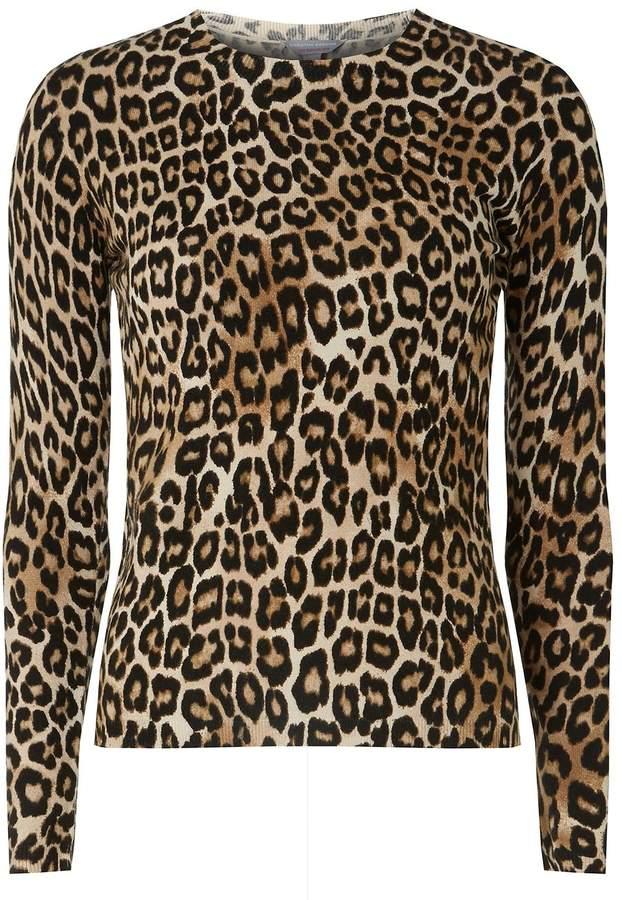 Dorothy Perkins Petite Leopard Print Jumper