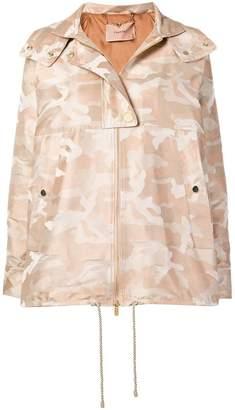 Twin-Set camouflage print jacket