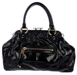 Marc Jacobs Patent Leather Stam Satchel