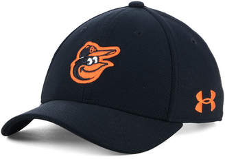 Under Armour Boys' Baltimore Orioles Adjustable Blitzing Cap