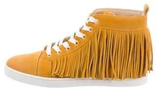 Christian Louboutin Coachelita Flat Crosta Sneakers